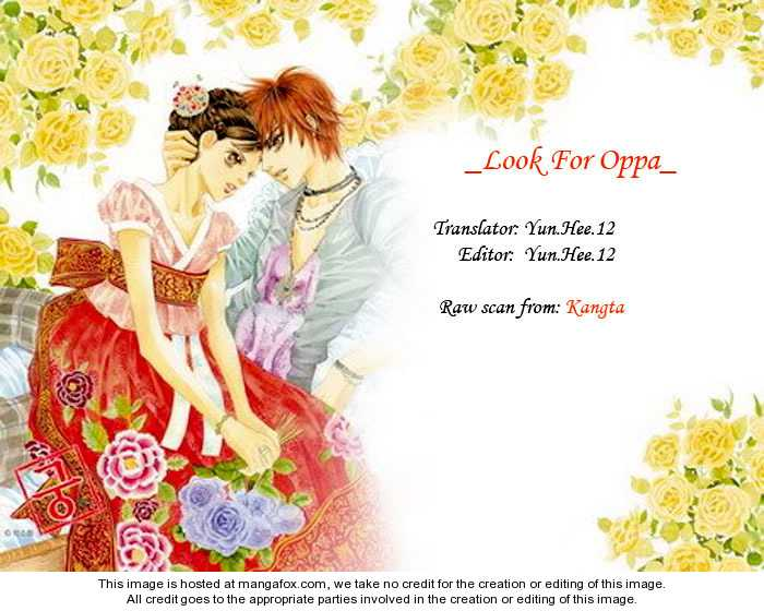 Look for Oppa! 7 Page 1