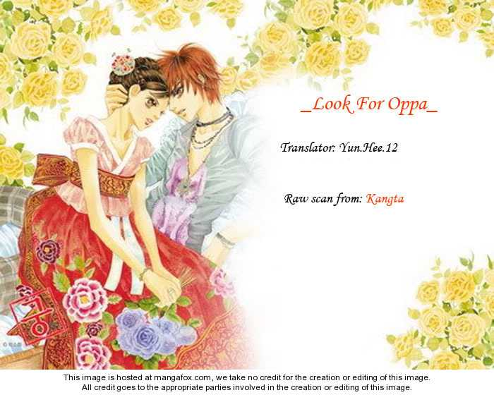 Look for Oppa! 14 Page 1