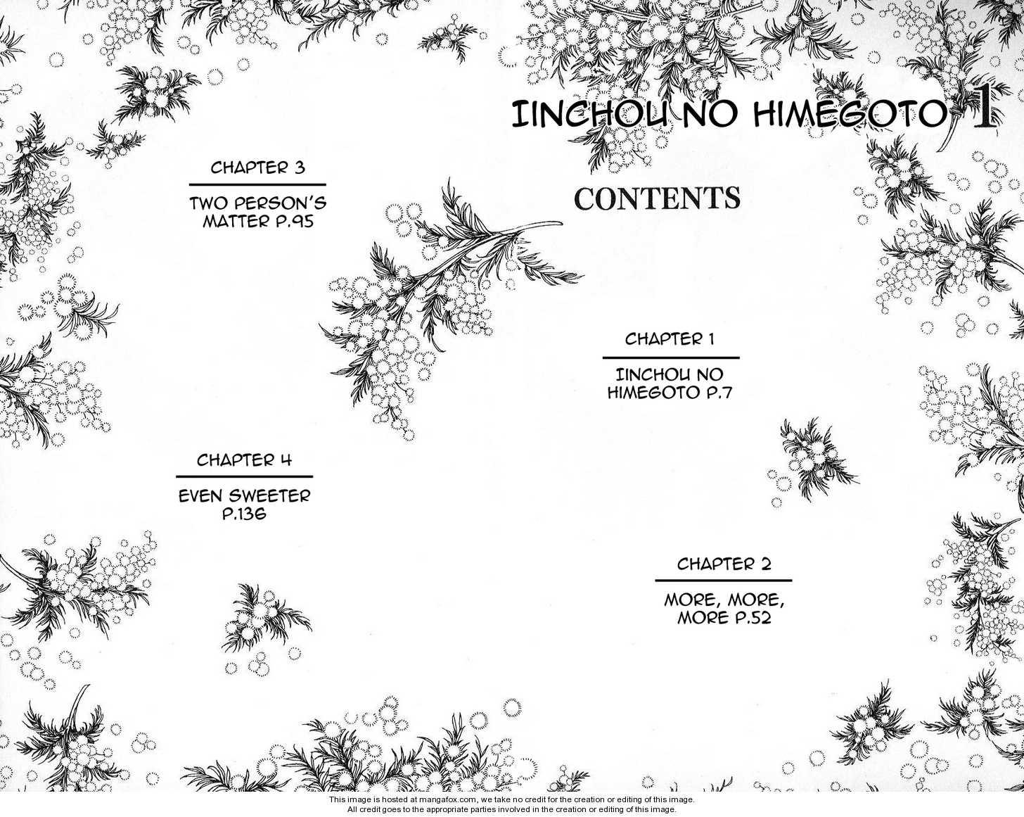 Iinchou no Himegoto 1 Page 2