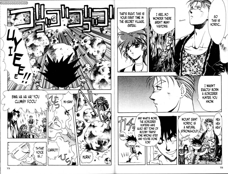 Bakuretsu Hunters 21 Page 2