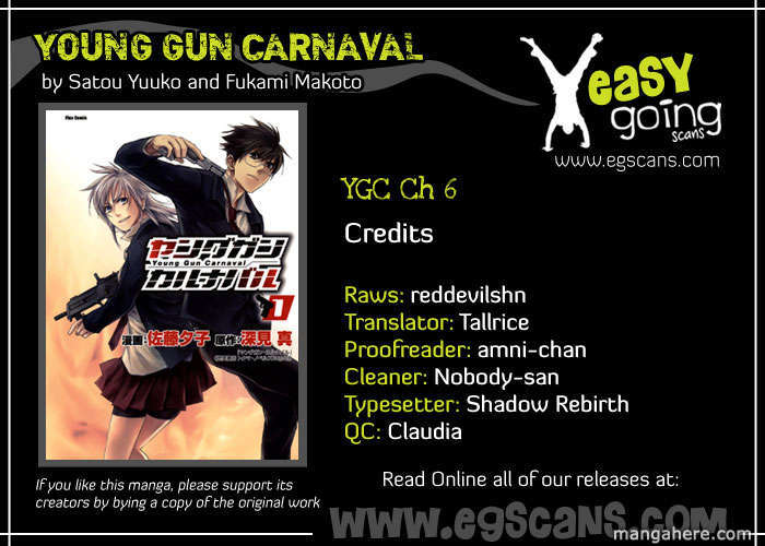 Young Gun Carnaval 6 Page 1