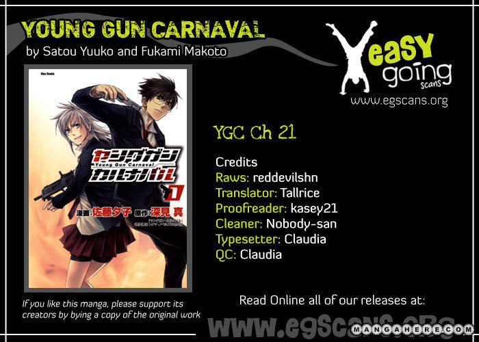 Young Gun Carnaval 21 Page 1