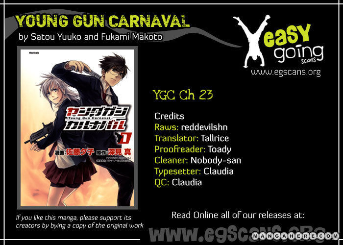 Young Gun Carnaval 23 Page 1