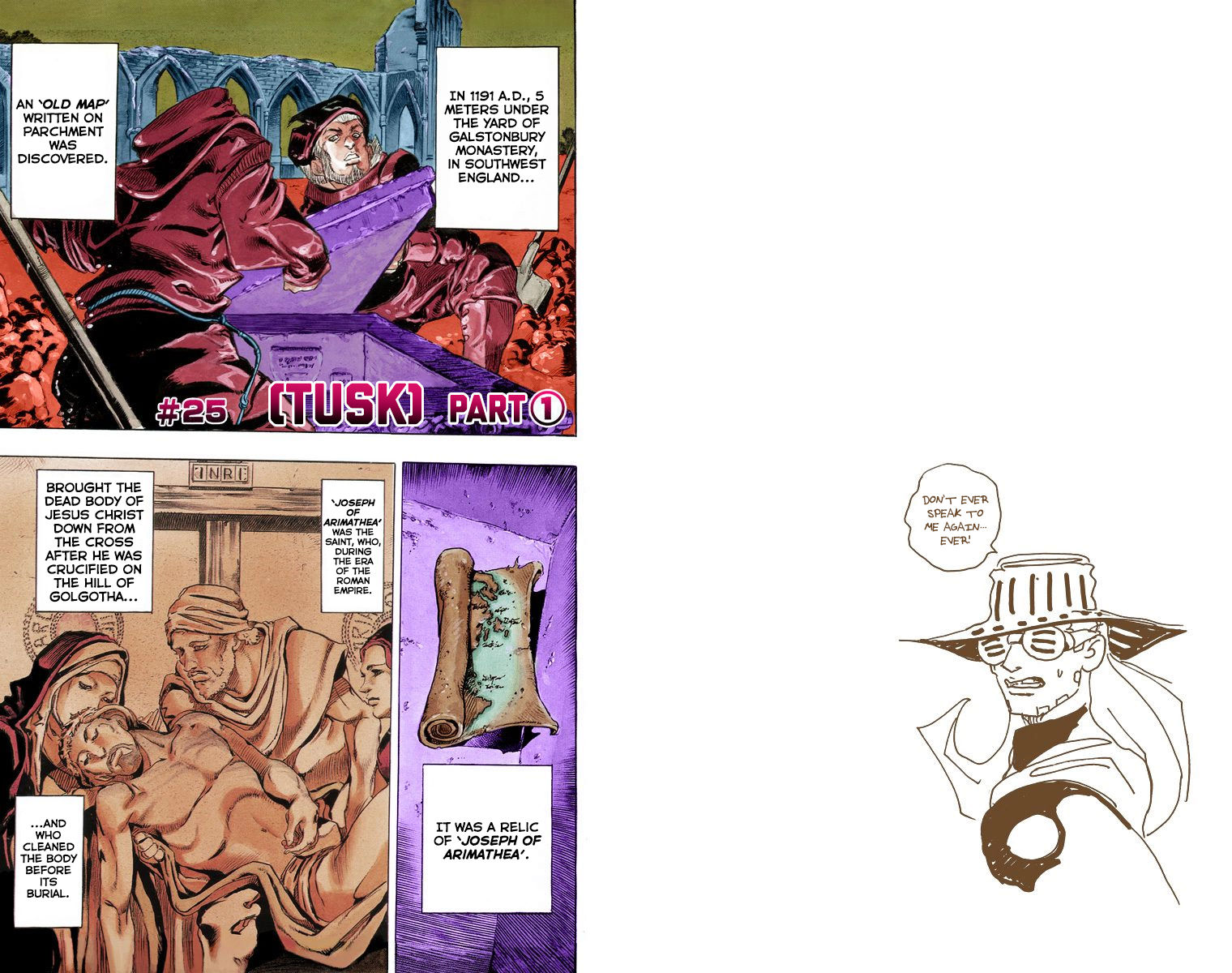 Steel Ball Run 25 Page 1