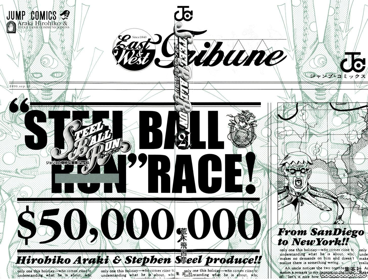 Steel Ball Run 81 Page 3
