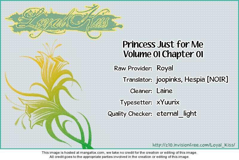 Personalized Princess 1 Page 1