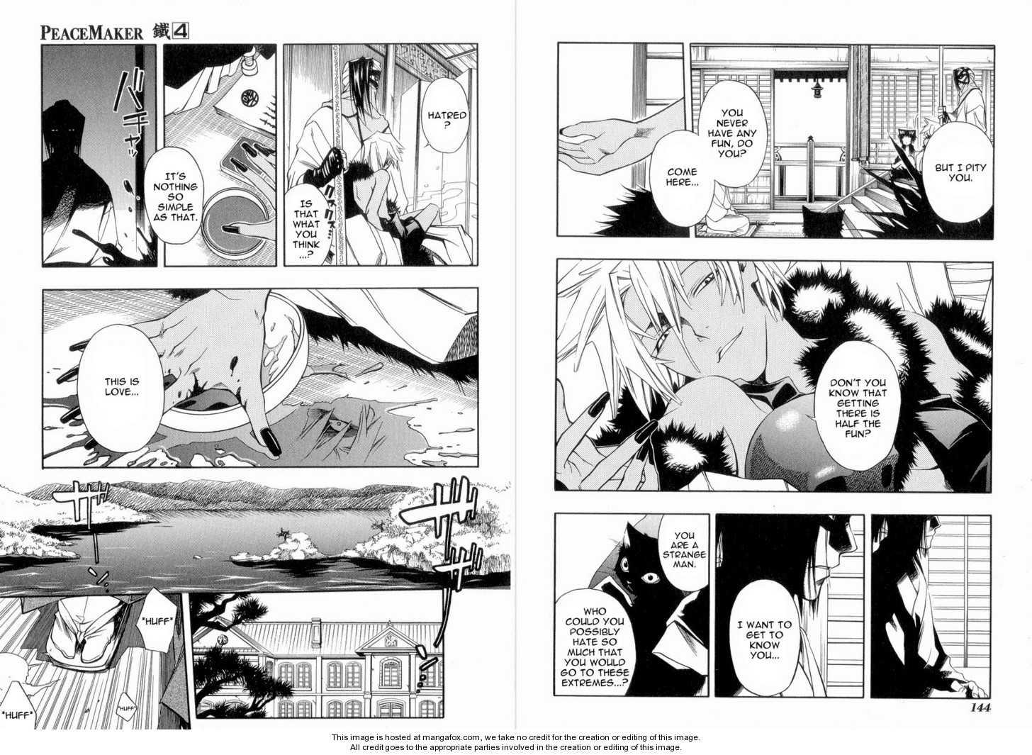 Peace Maker Kurogane 6 Page 3