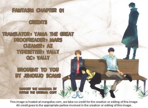 Fantasm 0 Page 1