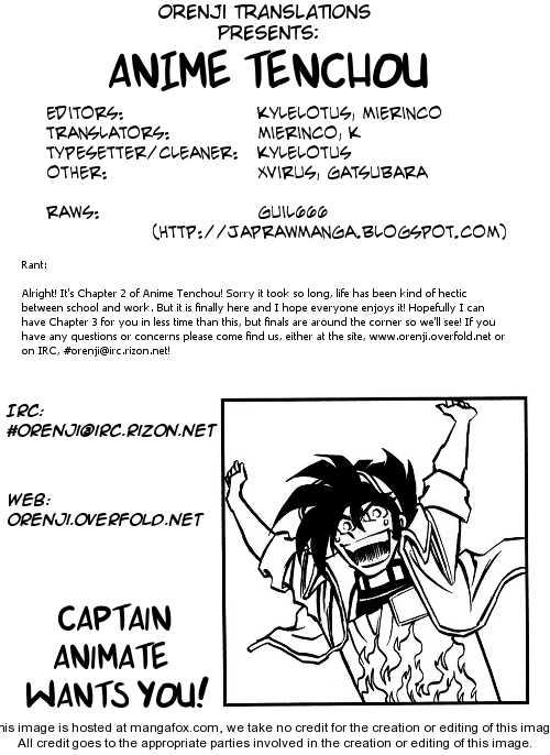 Anime Tenchou 2 Page 1