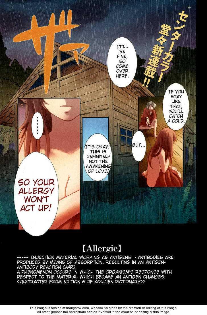Love Allergen 1 Page 1