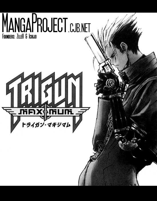 Trigun MAXIMUM 4 Page 1
