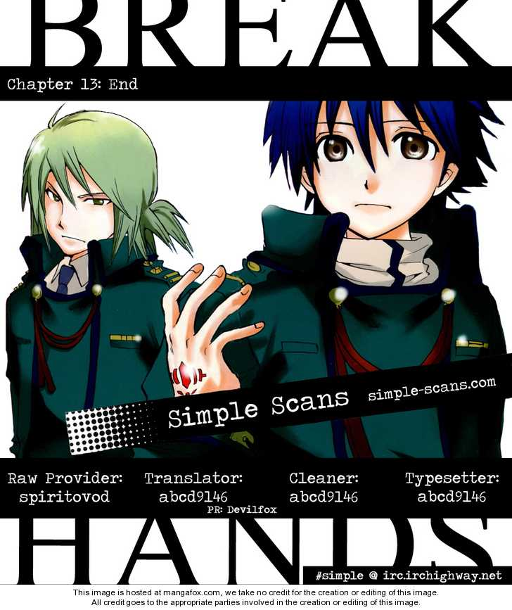 Break Hands 13 Page 1