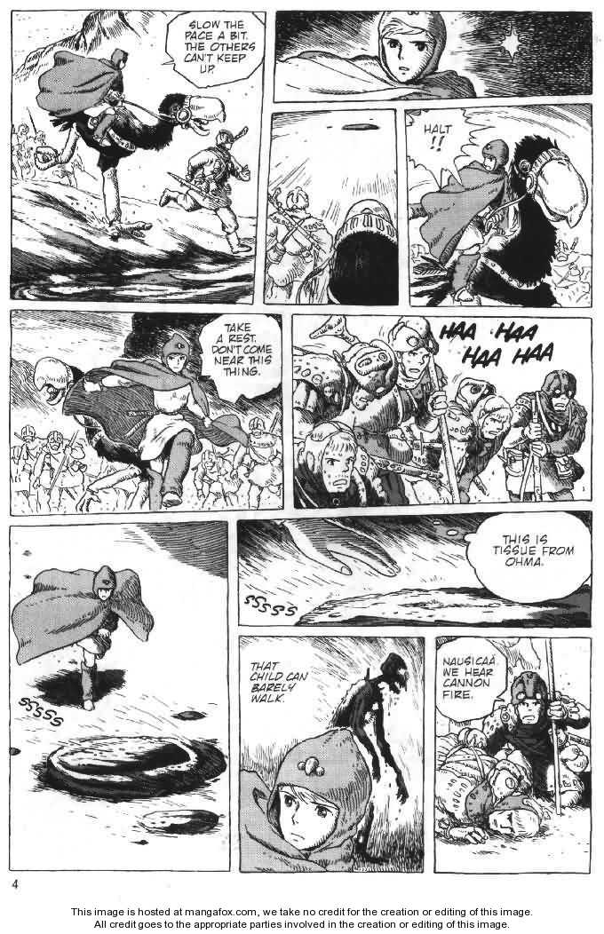 Nausicaä of the Valley of the Wind 6 Page 4