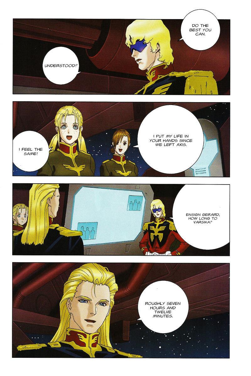 Kidou Senshi Gundam: C.D.A. Wakaki Suisei no Shouzou 37 Page 2