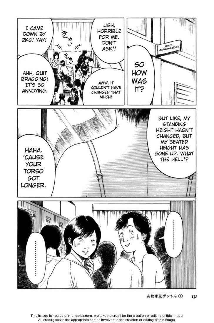 Koukou Kyuuji Zawa-san 14 Page 3