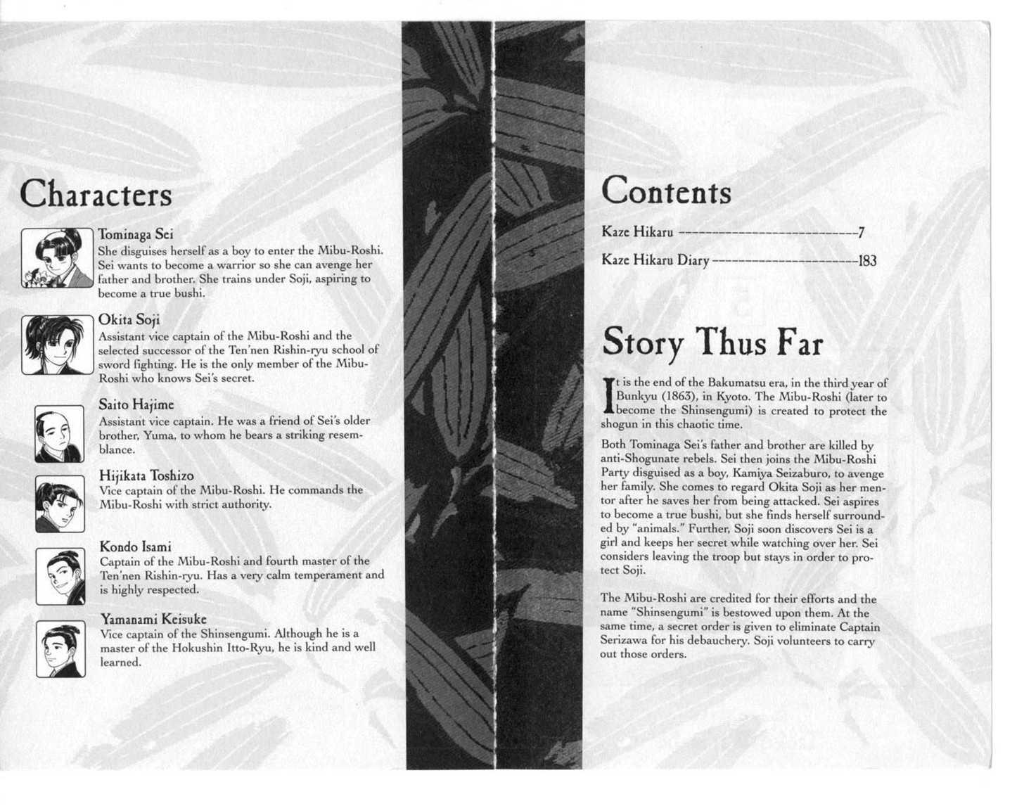 Kaze Hikaru 0 Page 3
