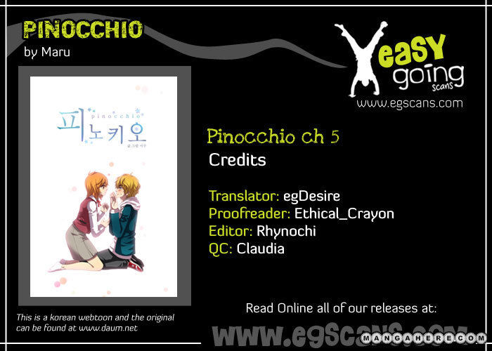 Pinocchio 5 Page 1