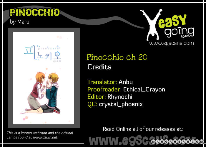 Pinocchio 20 Page 1