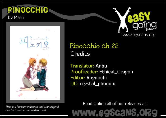 Pinocchio 22 Page 1
