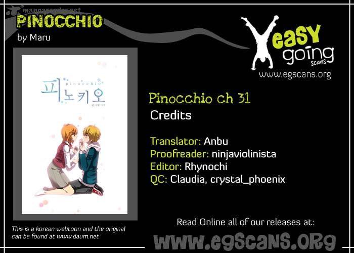 Pinocchio 31 Page 1