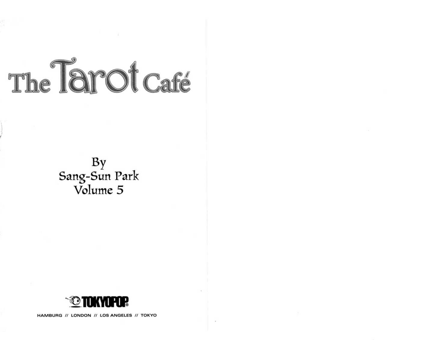 The Tarot Cafe 0 Page 2