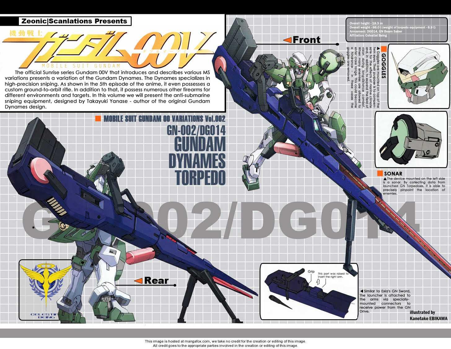 Mobile Suit Gundam 00V 2 Page 1