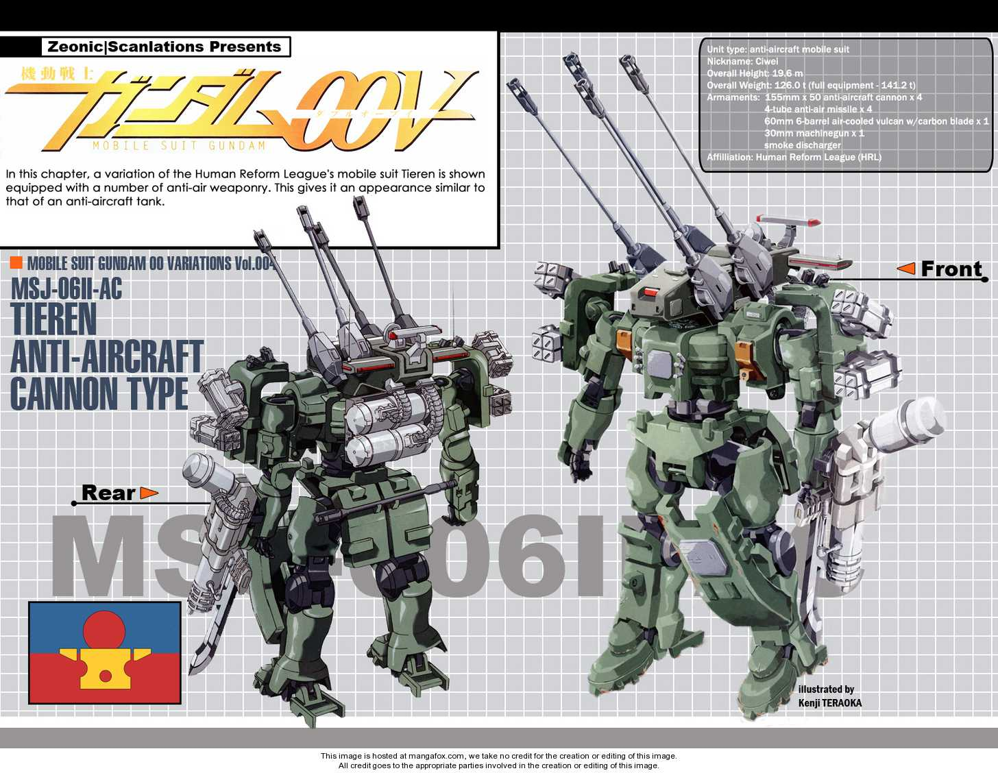 Mobile Suit Gundam 00V 3 Page 1
