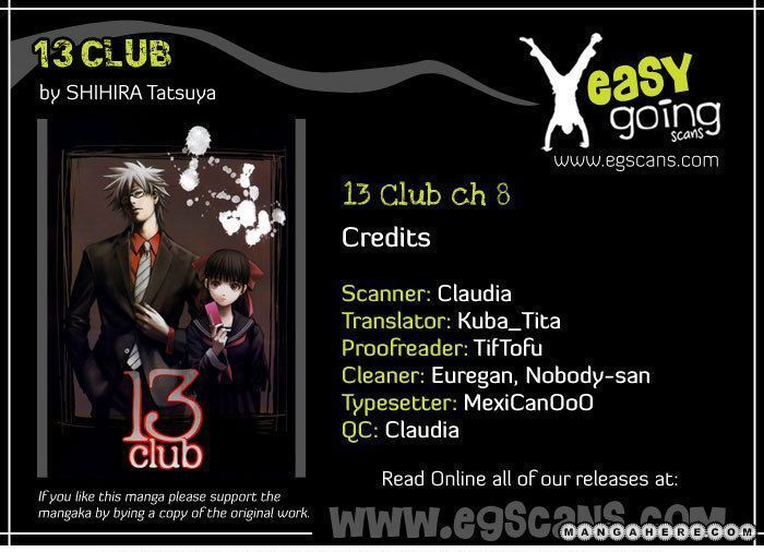 13 Club 8 Page 1
