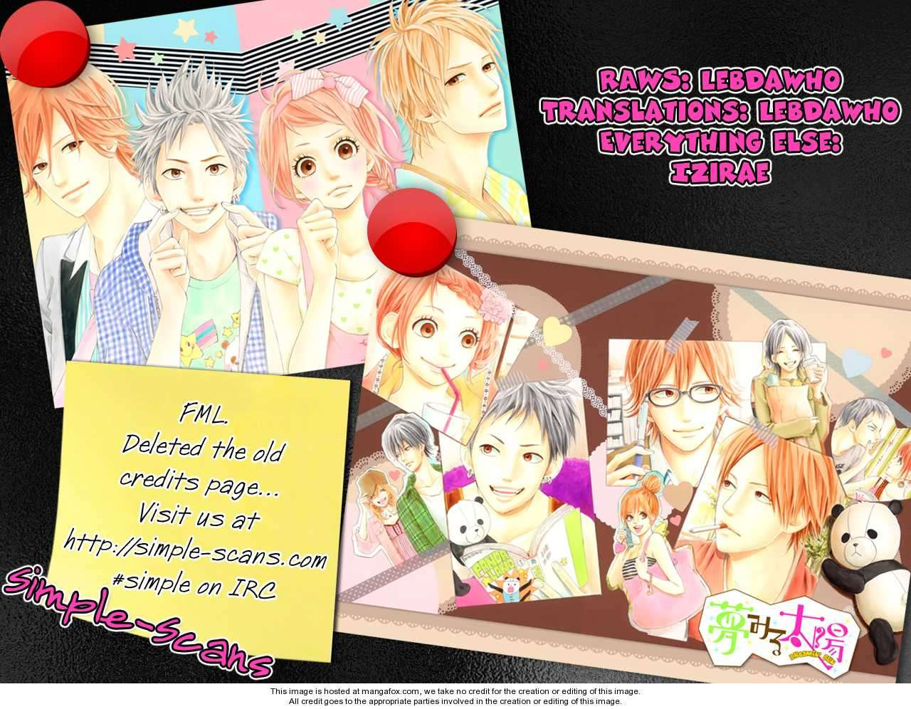Yumemiru Taiyou 18 Page 1