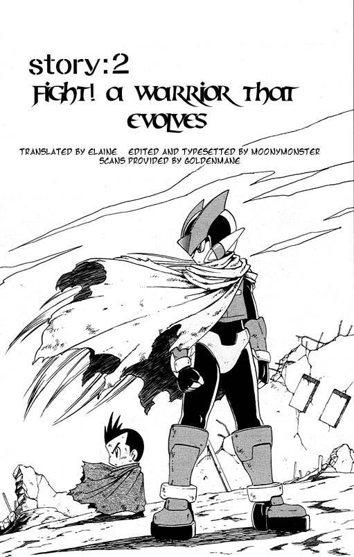 Rockman Zero 2 Page 1