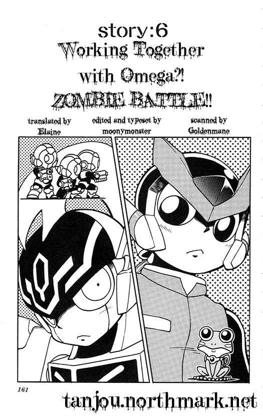 Rockman Zero 6 Page 1