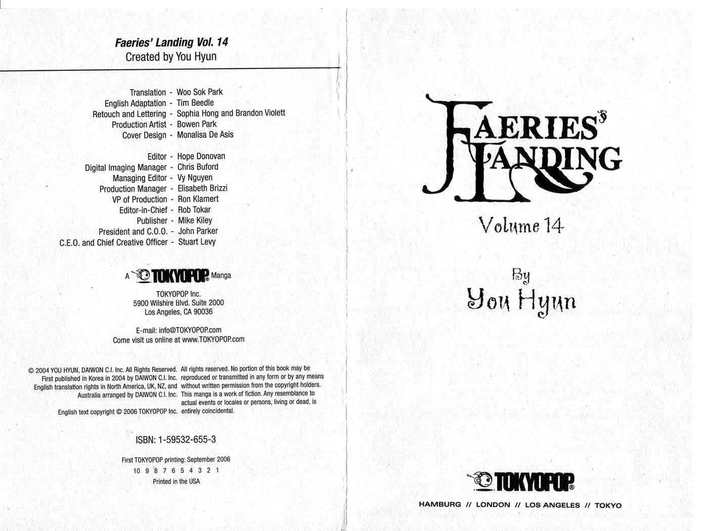 Faerie's Landing 1 Page 2
