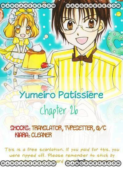 Yumeiro Patissiere 26 Page 1