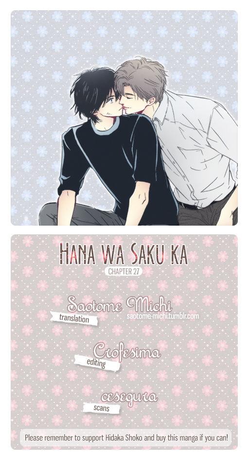 Hana wa Saku ka 27 Page 1