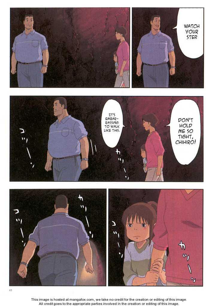 Sen to Chihiro no Kamikakuchi 3 Page 1