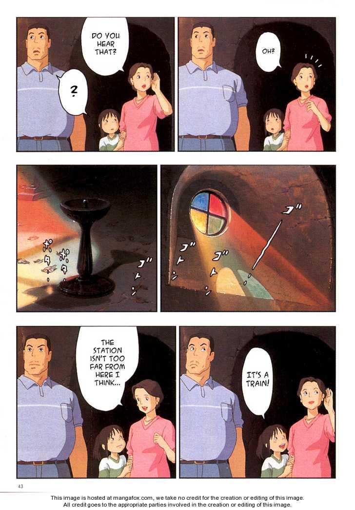 Sen to Chihiro no Kamikakuchi 3 Page 3