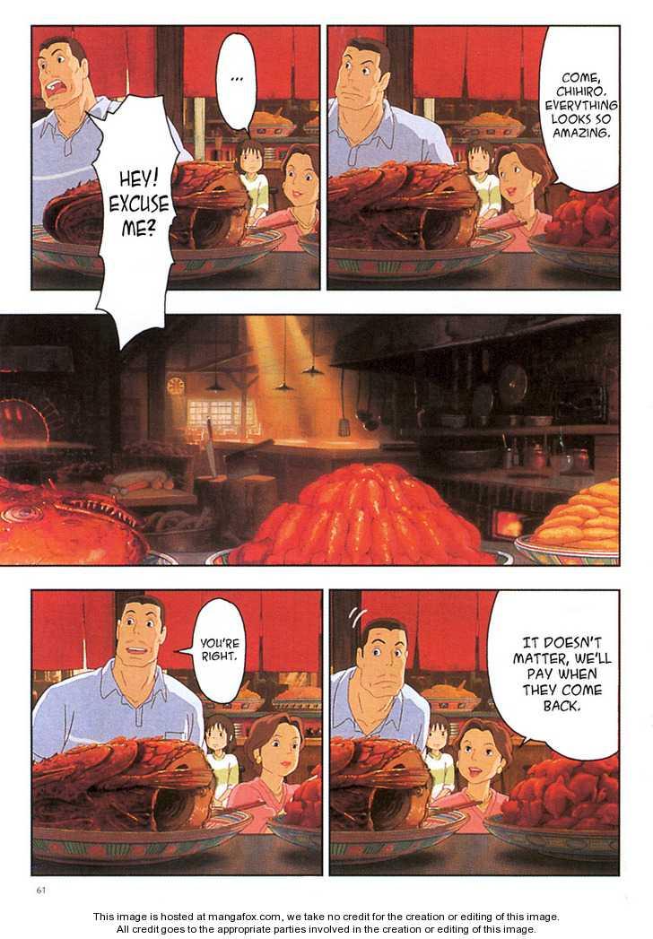 Sen to Chihiro no Kamikakuchi 4 Page 2