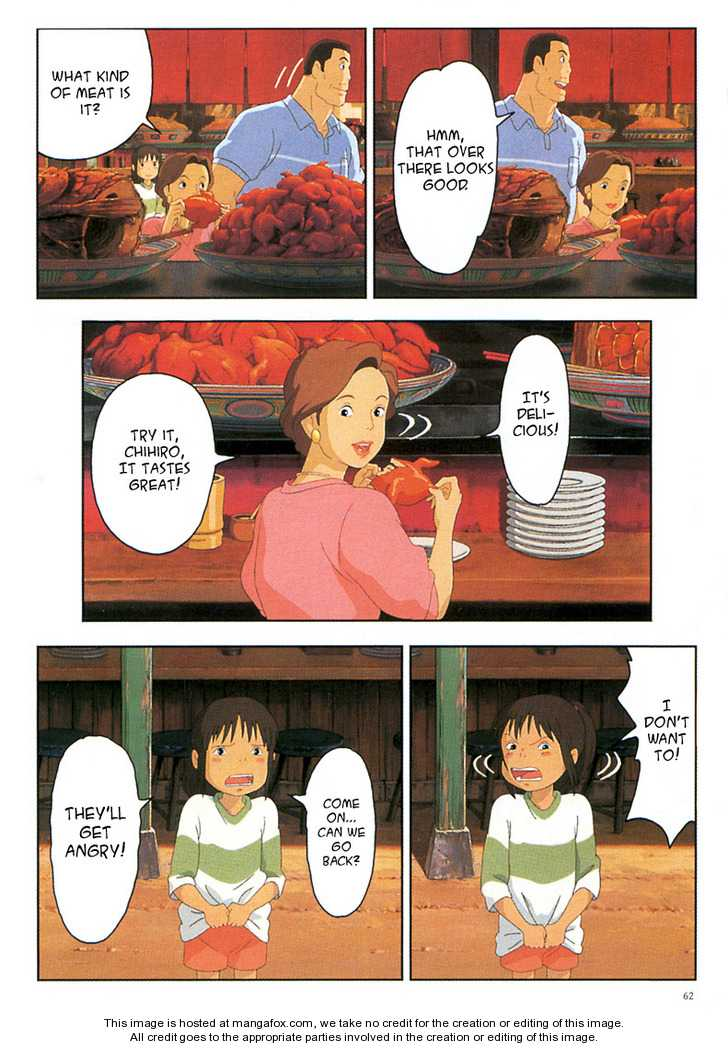 Sen to Chihiro no Kamikakuchi 4 Page 3
