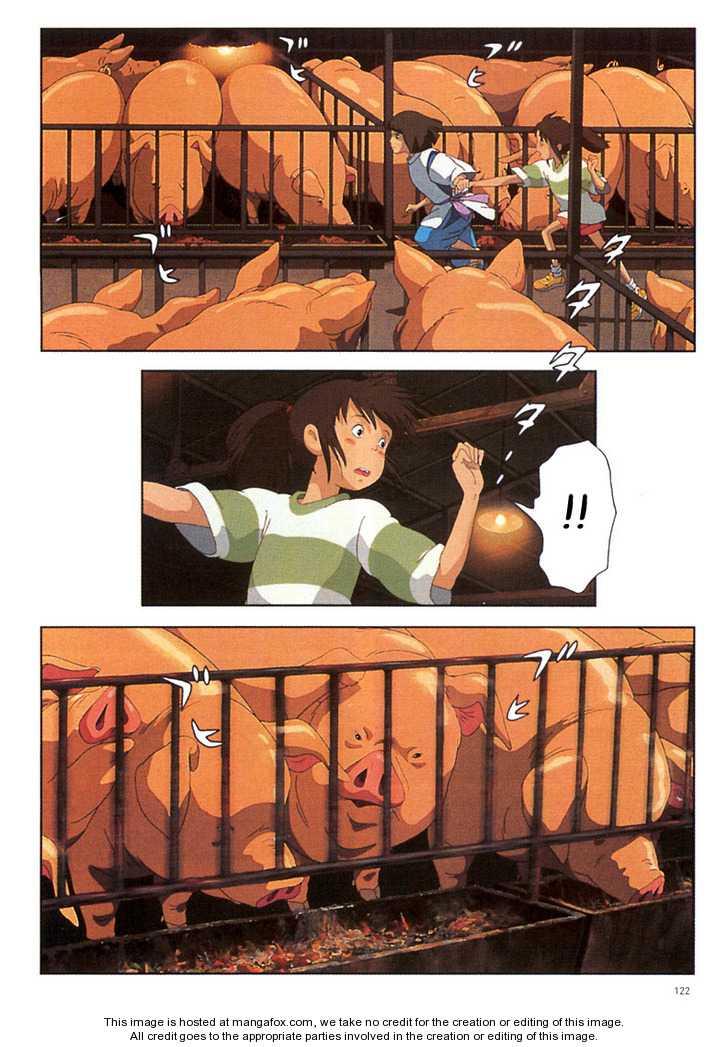 Sen to Chihiro no Kamikakuchi 7 Page 3