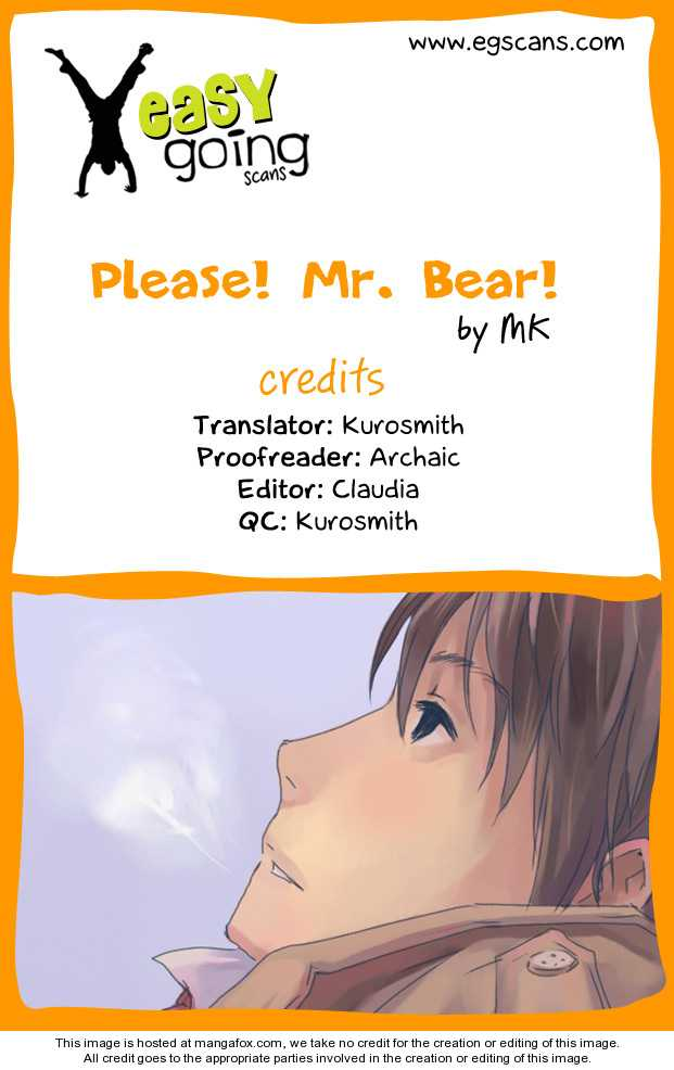 Please! Mr. Bear! 3 Page 1