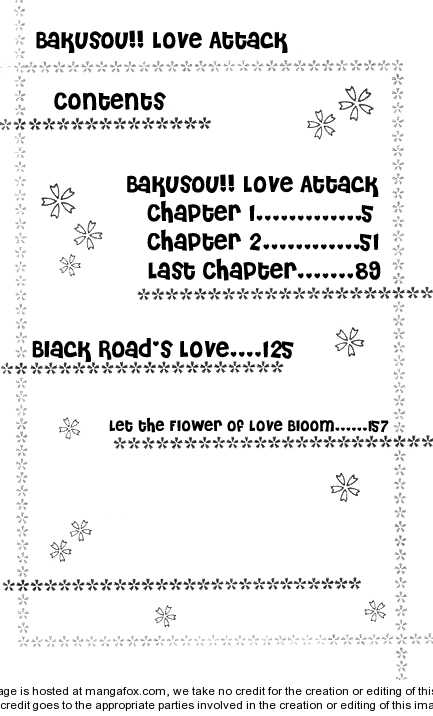 Bakusou!! Love Attack 1 Page 3