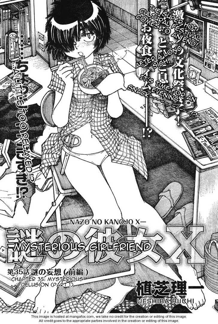 Mysterious Girlfriend X 35 Page 1