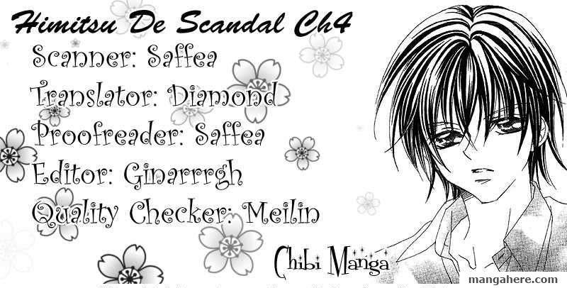 Himitsu de Scandal 4 Page 1