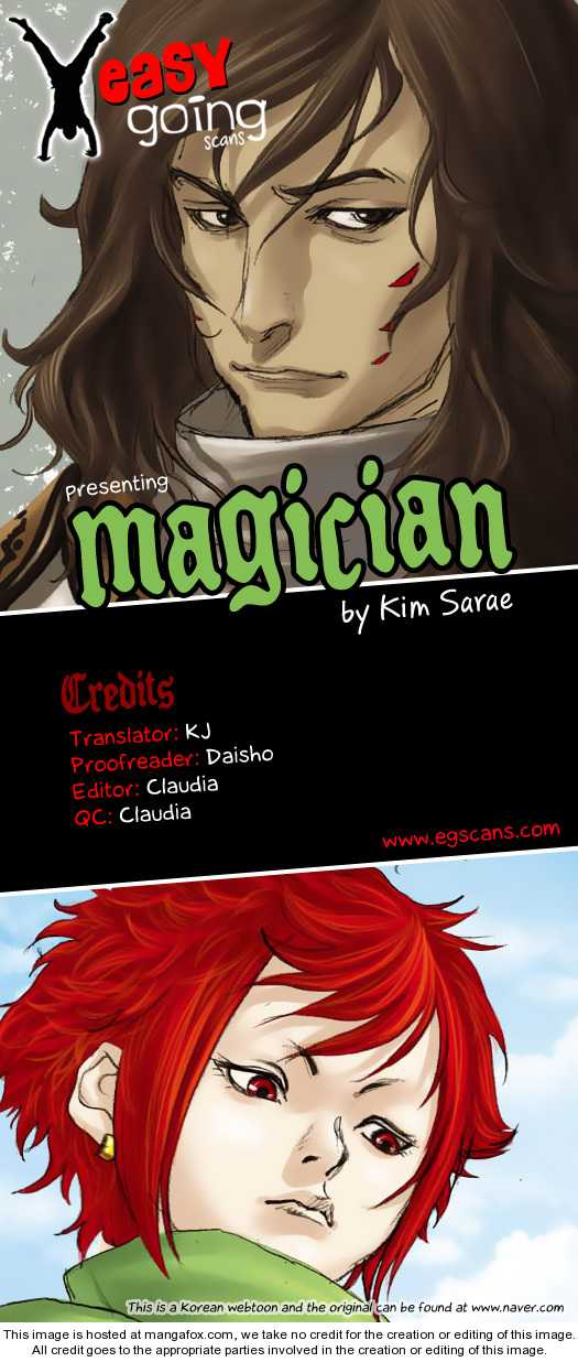 Magician 3 Page 1