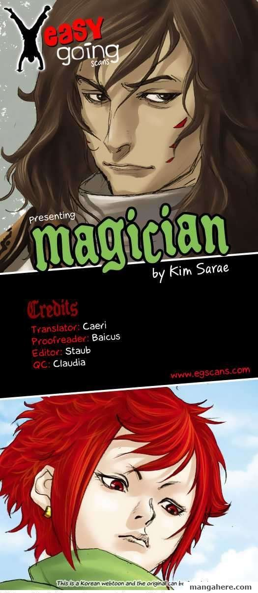 Magician 8 Page 1
