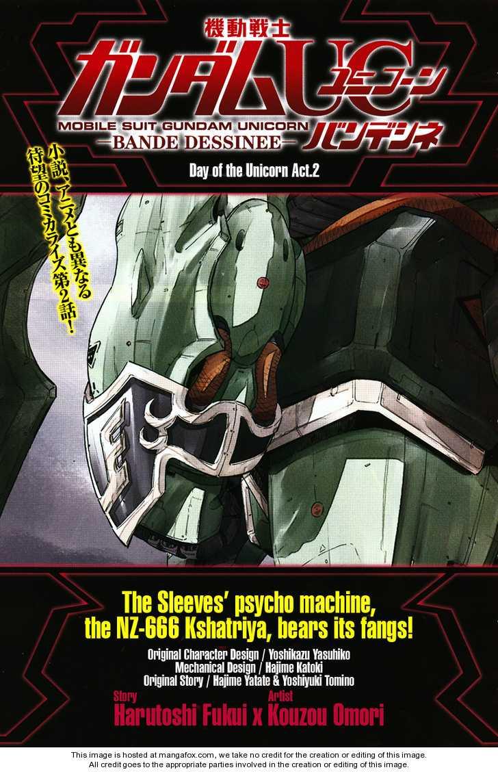 Gundam UC: Bande Dessinee 2 Page 1
