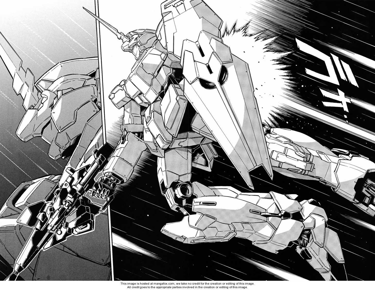 Gundam UC: Bande Dessinee 3 Page 2