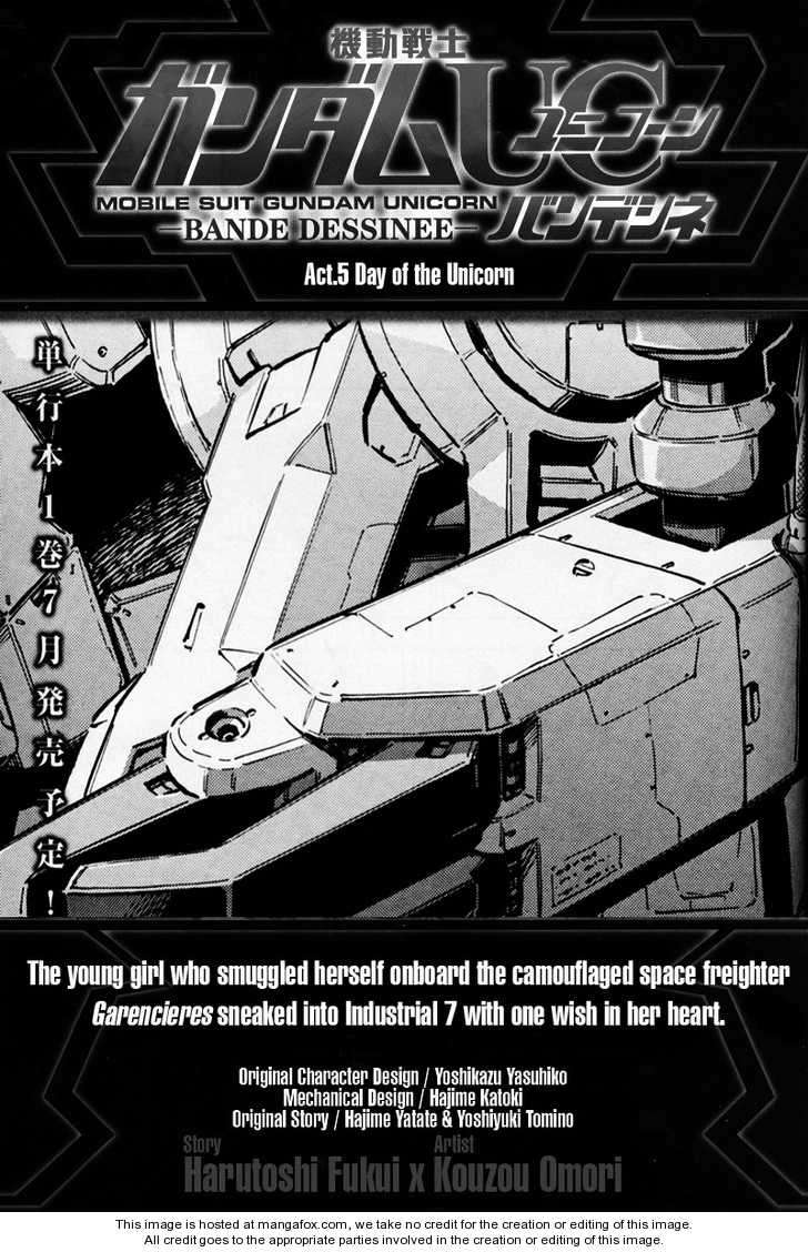 Gundam UC: Bande Dessinee 5 Page 1