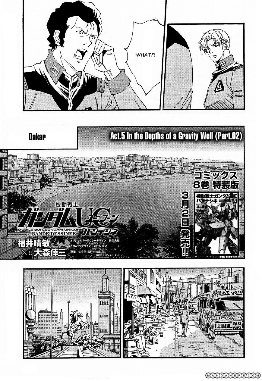 Gundam UC: Bande Dessinee 31 Page 1