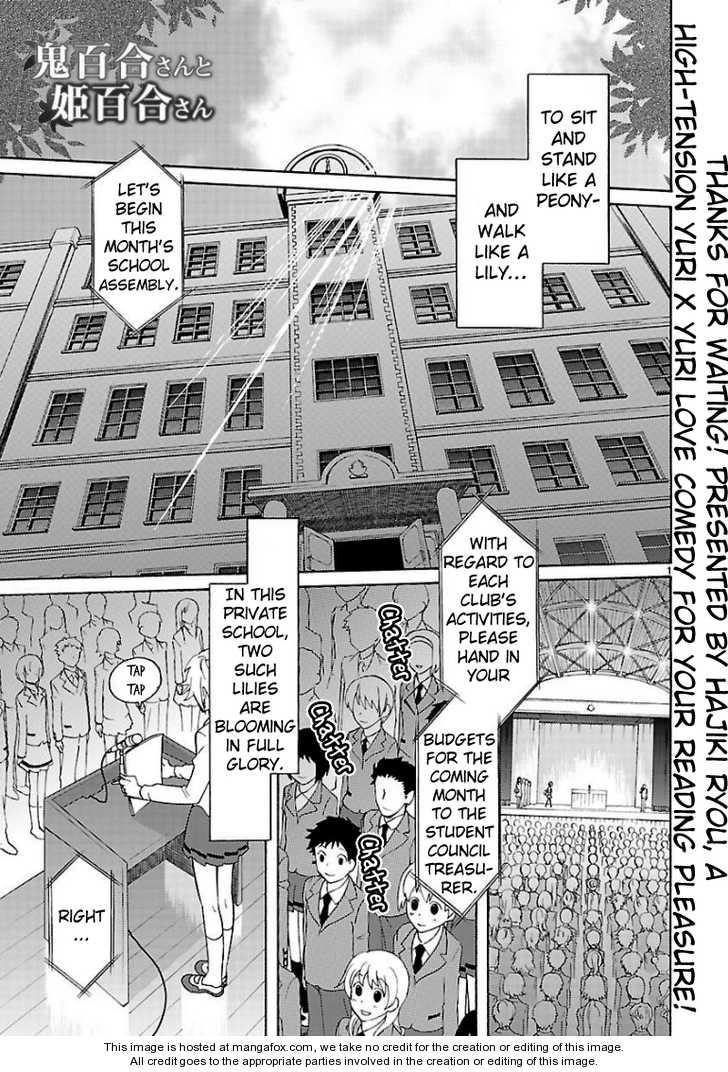 Oniyuri-san and Himeyuri-san 1 Page 2